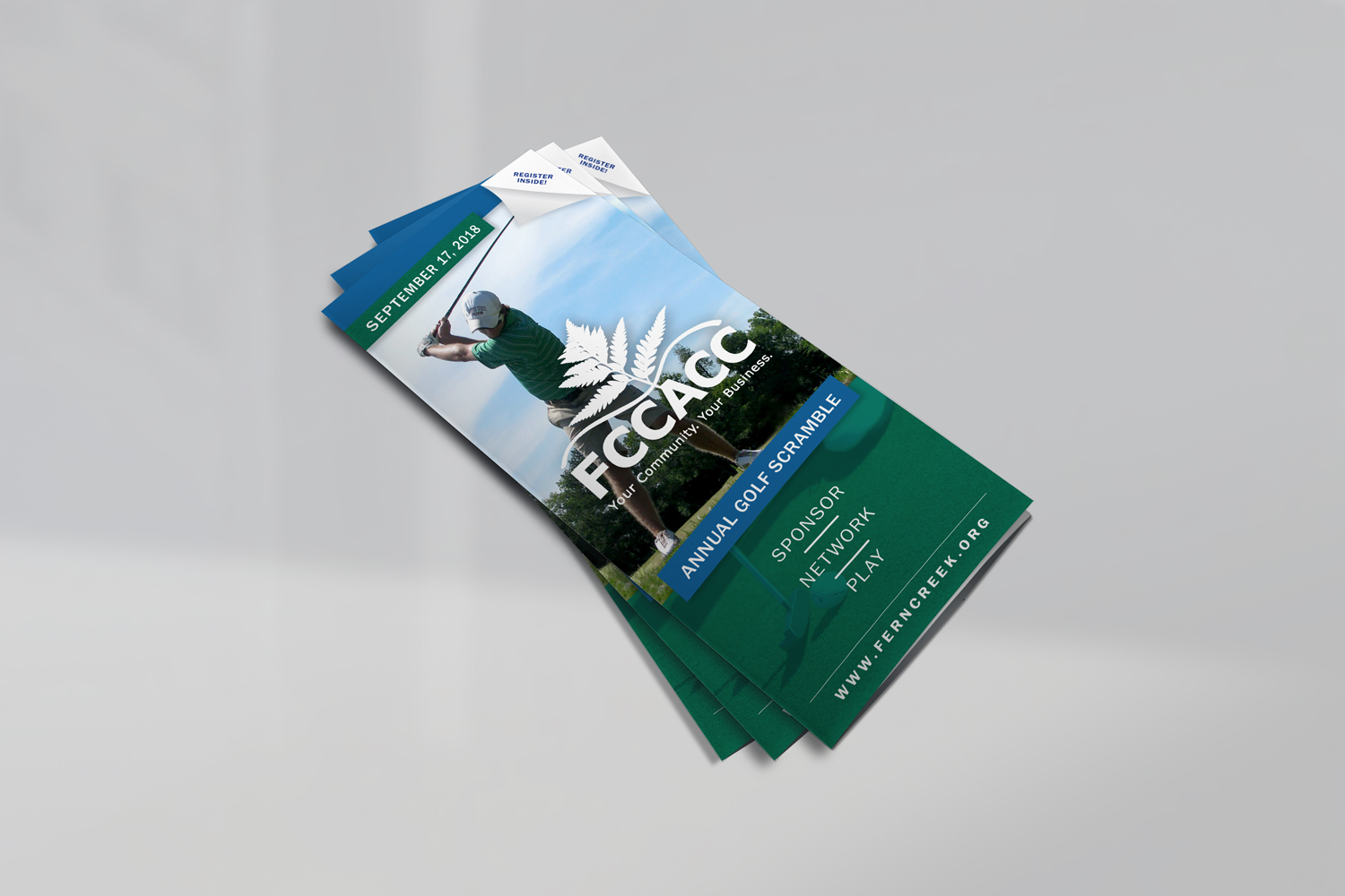 golf marketing brochure louisville
