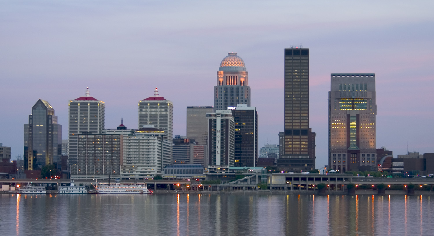 Skyline of Louisville Kentucky