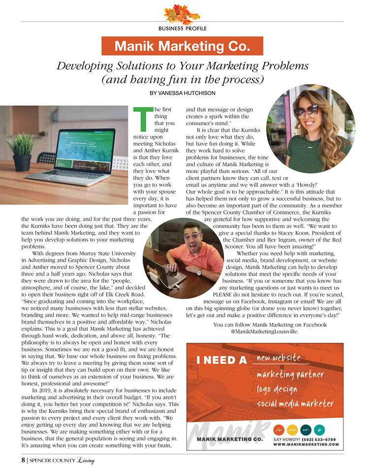 manik marketing pr magazine